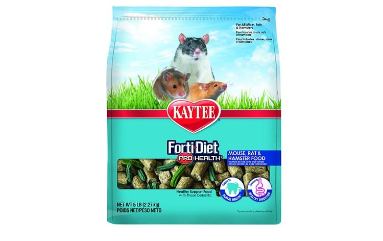 Kaytee FortiDiet ProHealth Rat/Mouse Food Review