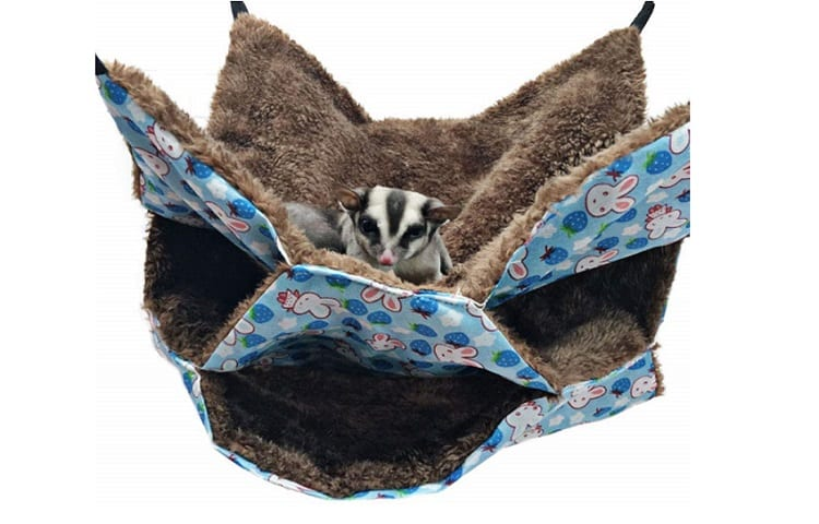 Oncpcare Small Pet Cage Hammock, Sugar Glider Triple Bed Hammock Review