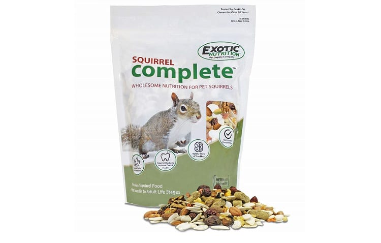 Squirrel Complete - Healthy Natural Food - Nutritionally Complete Diet for Pet & Captive Squirrels Review