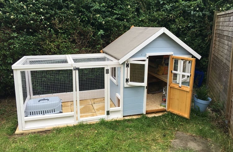 idea for outdoor cage