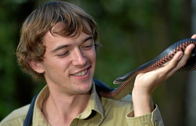 Holding A Venomous Snake